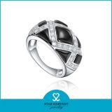 Принятый OEM испанский серебряный Jewellery кольца с логосом (R-0517)