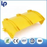 Chemin de roulement flexible de fibre optique de PVC avec RoHS et GV
