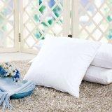 Cuscino decorativo caldo del tessuto di cotone di vendite con il materiale da otturazione della piuma