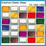 Покрашено/голубо/красно/зелено цвета/ясно параллельно сделано по образцу стеклянно блоки