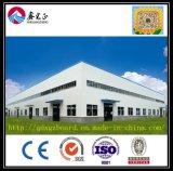 Ce & BV keurden de Geprefabriceerde Workshop van het Frame van het Staal (goed ZY166)