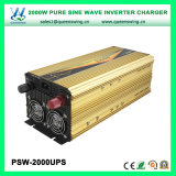 UPS 2000W de onda sinusoidal pura inversor de la energía solar con el cargador (PSW-2000UPS)