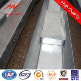 Übertragungs-Enden-Stahl Pole des doppelten Kreisläuf-10kv elektrischer