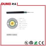 2 type central extérieur de tube de faisceaux (fibre multimode) GYXTW câble de fibre optique pour le réseau