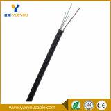 2 cable de gota óptico unimodal de fibra de las FO Corning del cable 2 de las memorias FTTH