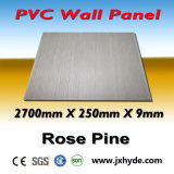 Matériau imperméable à l'eau de cannelure de lustre de PVC de panneau de décoration moyenne blanche de plafond