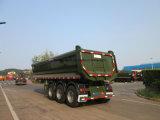 中国のブランドのU形の後部ダンプのトレーラー