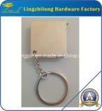 Het Meetlint Keychain van het Plateren van het nikkel