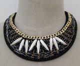 Ladies Handmade Crystal Choker colar colar acessórios de vestuário (JE0038)