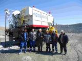 Sul posto camion pesante Mixed degli esplosivi del Anfo Bczh15