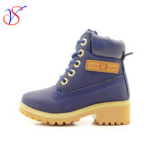 2016 de nieuwe Schoenen van de Laarzen van het Werk van de Veiligheid van de Injectie van de Kinderen van de Jonge geitjes van de Baby van de Stijl Werkende voor OpenluchtBaan (MARINE svwk-1609-034)