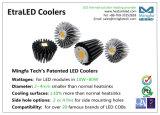 28.1W LED Using dissipazione di calore si è sporto dissipatore di calore di alluminio del dispositivo di raffreddamento del LED per il cittadino Cobs-Etraled-Cit-7080