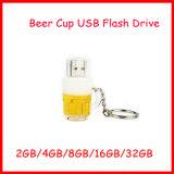 128g小型USBのディスクのPendriveビールコップUSBのフラッシュ駆動機構