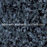 Granito azul de pedra natural da pérola para a telha, parte superior da vaidade, pavimentando