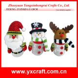 クリスマスの装飾(ZY15Y040-1-2)のクリスマスのクッキーの容器