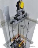 Petit ascenseur de passager de pièce de machine avec la traction sans engrenages (Q04)