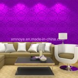 Placa/painel acústicos Eco-Friendly da parede do PVC do som 3D para a decoração Home