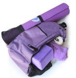 Mochila de poliéster deporte mochila de yoga bolsa de transporte