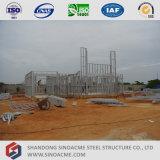 Construcción de acero de la casa del calibrador ligero prefabricado