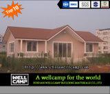 Casa de campo clara luxuosa do Prefab da casa de campo da construção de aço da venda quente