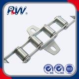 La S digita la catena agricola d'acciaio con il collegamento