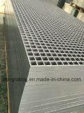 """Passagem antiderrapante da fibra de vidro que raspa com """" engranzamento 1-1/2 quadrado"""