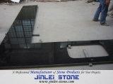 Natuurlijke Opgepoetste Zwarte/Blauwe Countertop van het Graniet voor Huis en Hotel