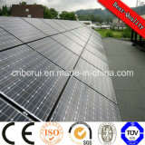 Monocrystalline 실리콘 물자 및 1580*808*35mm 크기 12V 태양 전지판