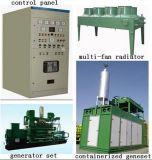 Gerar a central energética do biogás da energia de Biomethane da eletricidade
