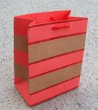 Sac de papier de empaquetage de cadeau d'impression de modèle de piste