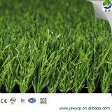 最もよい庭のバルコニーWy-6のための価格によってカスタマイズされる自然な見る3調子の景色の人工的な草