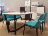 Cadeira de jantar de couro de madeira moderna de Itialian (C48)