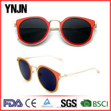 Mulheres coloridas 2017 dos óculos de sol da compra do volume de Ynjn