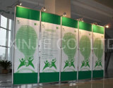 Легкая установка хлопает вверх торговая выставка будочки выставки знамени