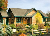 Casa prefabricada modificada para requisitos particulares chalet del chalet prefabricado del día de fiesta