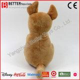 Het uitstekende kwaliteit Gevulde Stuk speelgoed van de Kangoeroe van de Pluche Dierlijke