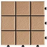 Material de construção de alta qualidade Decking Tile Interlocking Tile Flooring