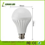 Ampoule en plastique d'éclairage LED du prix usine B22 12W