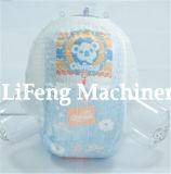 Máquina Pull-up del pañal del bebé servo lleno