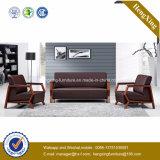 Sofá moderno do escritório do sofá do couro genuíno de mobília de escritório (HX-CF006)