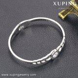 51531 Form einfache CZ-Edelstahl-Schmucksachen Platin-Überzogenes Armband für Frauen