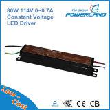 fuente de alimentación constante del voltaje LED de 80W 114V 0~0.7A