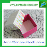 Rectángulo de empaquetado modificado para requisitos particulares del chocolate del regalo del favor del papel de arte de la impresión