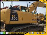 Excavador de la Caliente-Venta, excavador usado de KOMATSU PC200-8, excavador de la correa eslabonada PC200-8