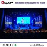 LEIDENE van de Huur van de Kleur P4.81 van P2.976 P3.91 het Volledige Binnen VideoScherm van de Muur met het Kabinet van 500mm*500mm voor de Gebeurtenissen van het Stadium