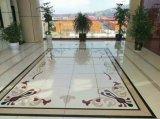 Панель плитки пола домашнего украшения водоструйная Nano стеклянная каменная