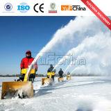 Ventilateur chaud de balayeuse de neige de l'essence 6.5HP de vente
