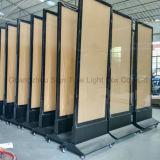 Premier signe en aluminium de vente DEL d'intérieur de bâti de produits annonçant le cadre léger