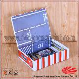 Precioso juguete para niños de almacenamiento Caja de cartón libro Pequeño