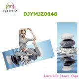 Ideal de pedra da esteira da ioga da impressão para a meditação